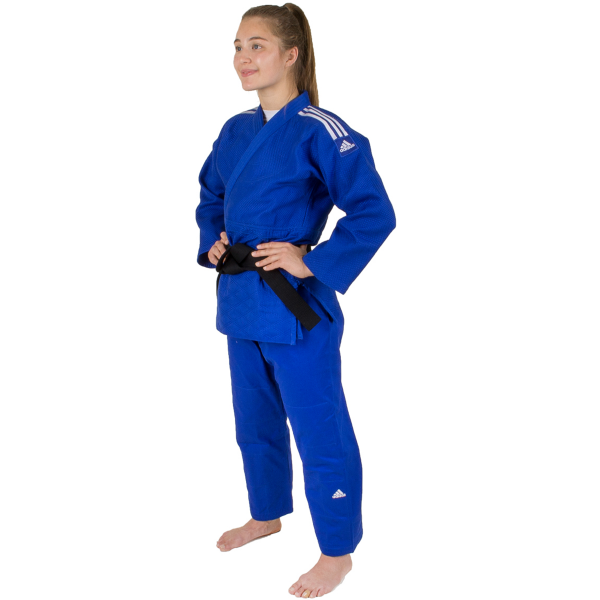 Judo Uniform  - Adidas Judo - 'Champion 2.0' - Blå - Slim Fit