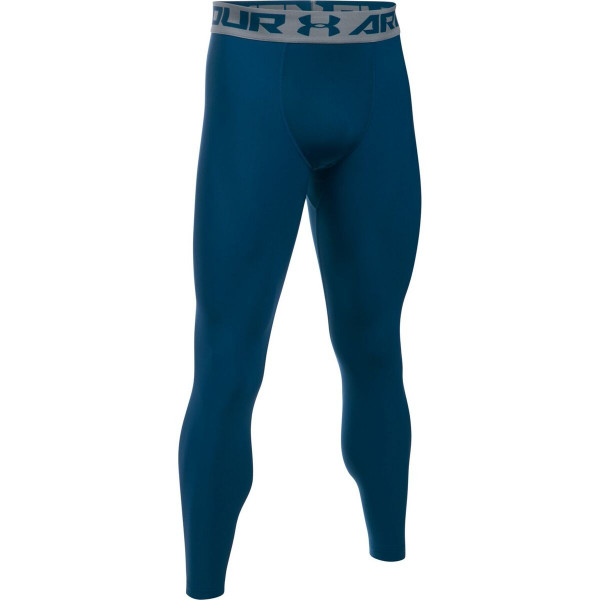 Compression Tights - Under Armour - Heat Gear Armour - Marineblå