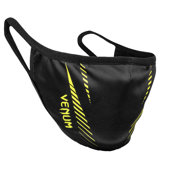 Accessories - Venum - 'Face Mask' - Black/Yellow