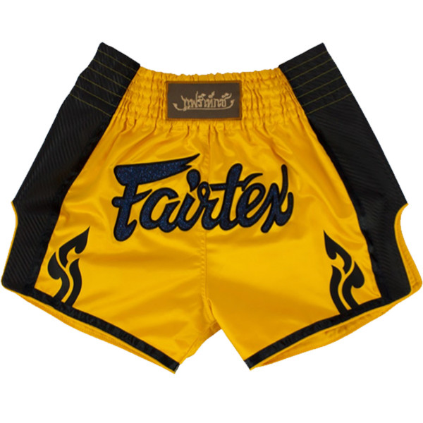 Muay Thai Shorts - Fairtex - 'BS1701' - Gul
