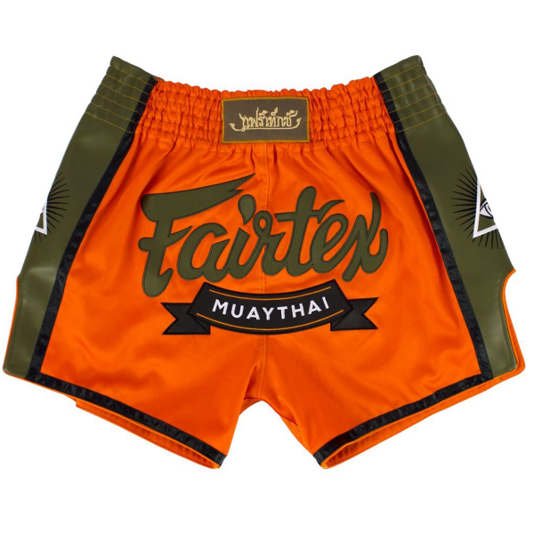 Muay Thai Shorts - Fairtex - 'BS1705' - Orange