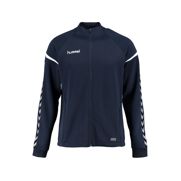 Jakke - Hummel - Auth. Charge Poly Zip - Junior - Navy