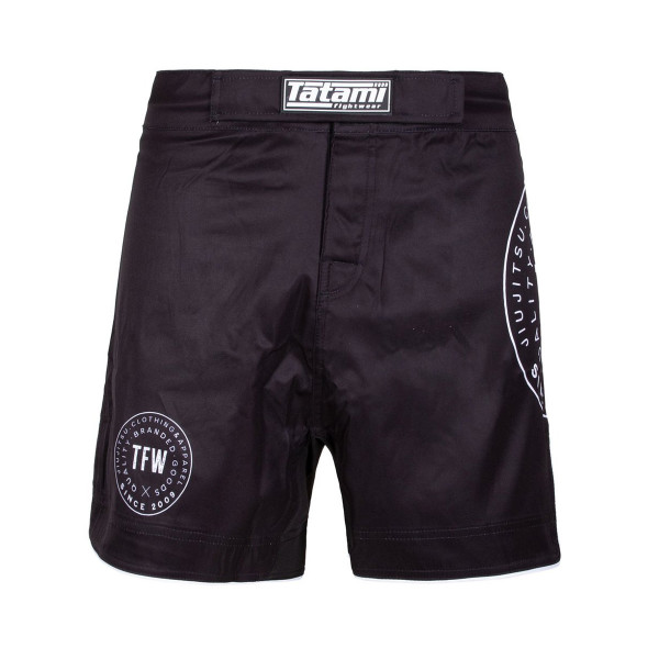 MMA Shorts - Tatami Fightwear - 'Iconic' - Black