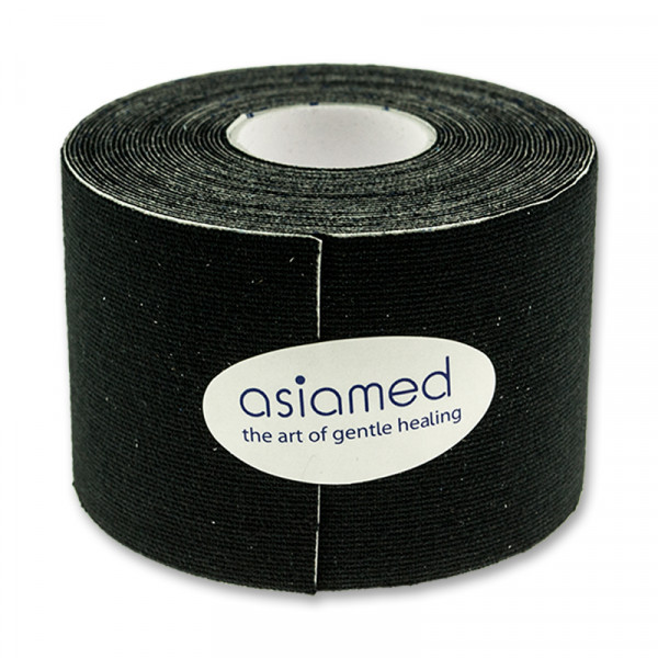 Kinesiologitape - Asiamed - 5 cm - Sort