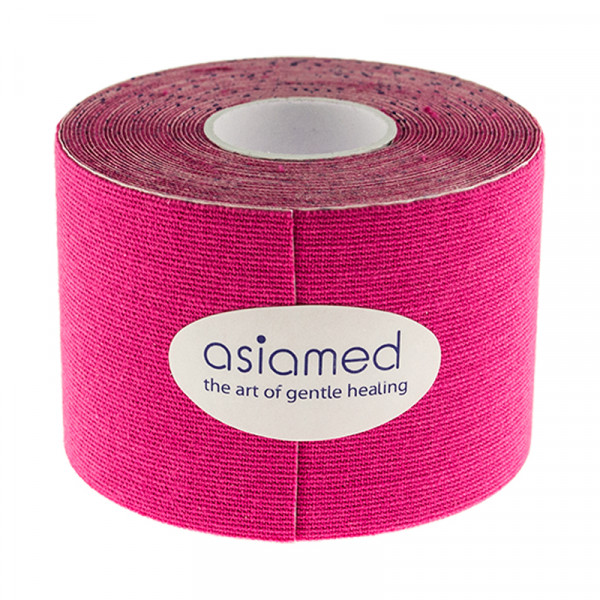 Kinesiologitape - Asiamed - 5cm x 5m - Pink