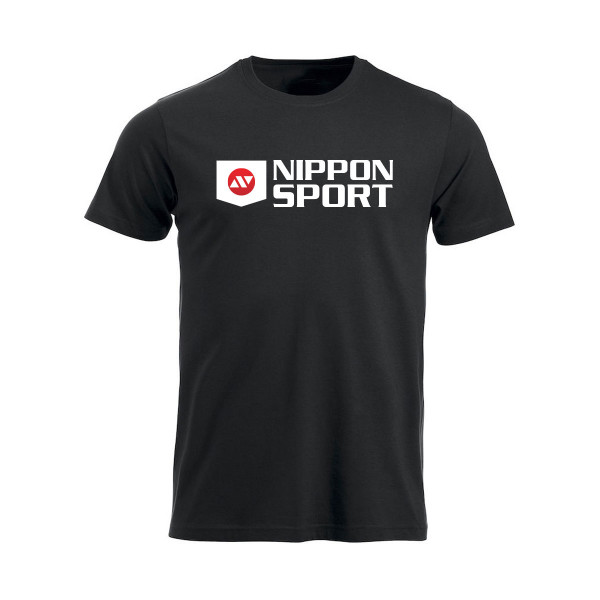 T-Shirt - Nippon Sport - 'New Classic' - Sort