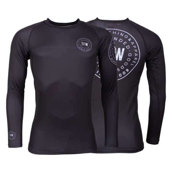 Rash Guard - Tatami Fightwear - 'Iconic' - Sort - Lange ærmer