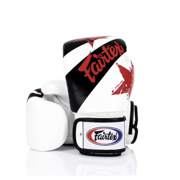 Boxing Gloves - BGV1 - White Nation