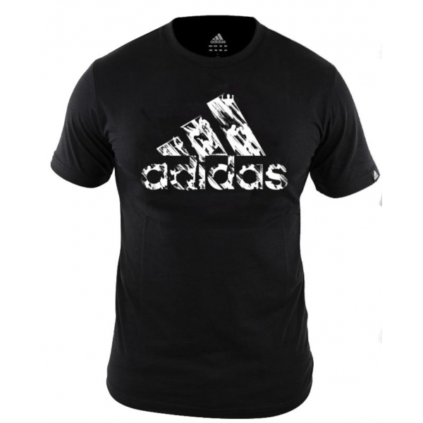 "T-shirt - Adidas - ""Graphic"" - Sort/Hvid"