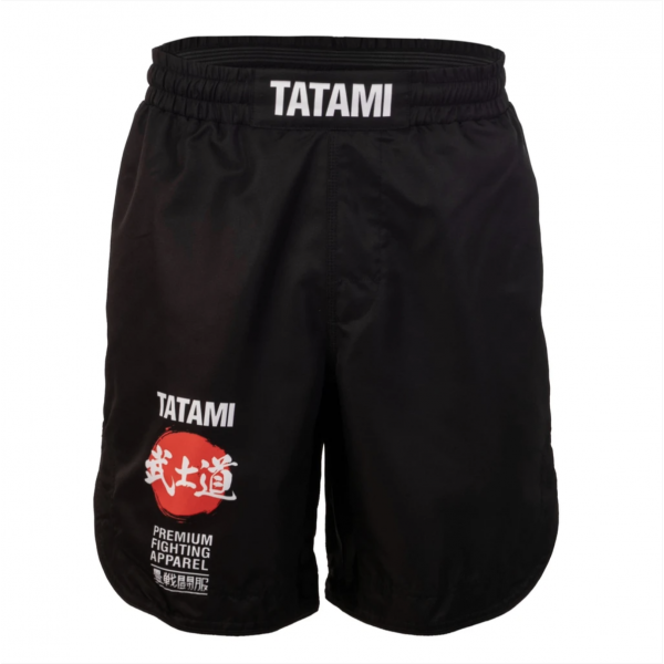 MMA Shorts - Tatami fightwear - 'Bushido' - Sort
