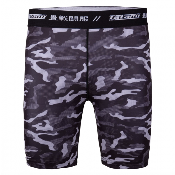 Vale Tudo Shorts - Tatami fightwear - 'Rival' - Sort/Camouflage