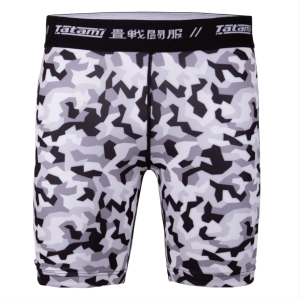 Vale Tudo Shorts - Tatami fightwear - 'Rival' - Hvid/Camouflage