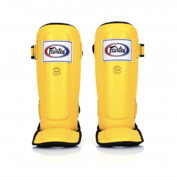 Benbeskytter - Fairtex - 'SP3' - Gul