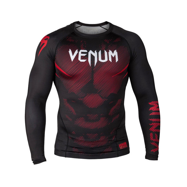 Rash Guard - Venum - 'NoGi 2.0' - Sort - lange ærmer