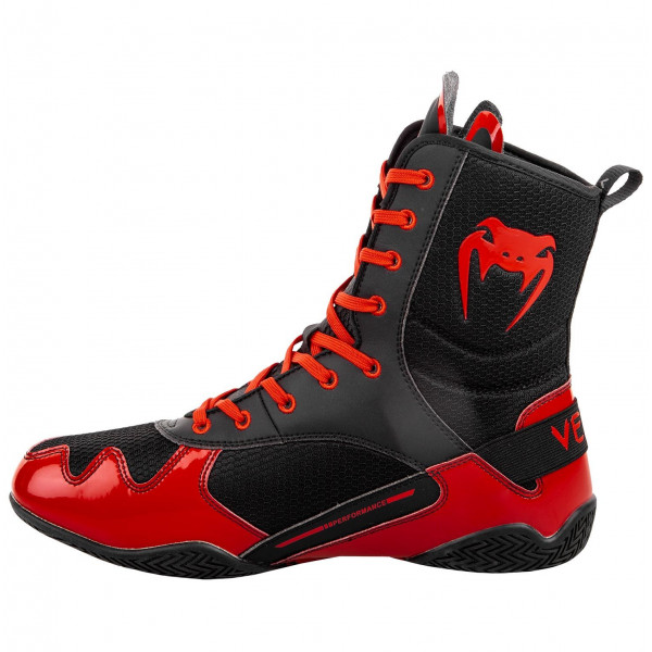 Boxing shoes - Venum Elite Boxing Shoes - Black/Red