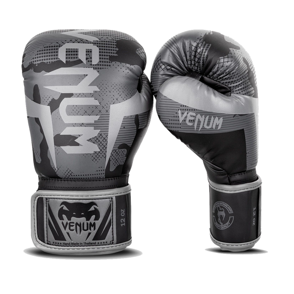 Boxing Gloves - Venum - 'Elite' - Black/Camouflage