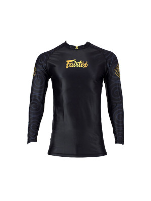 Rash Guard - Fairtex - 'RG6' - Sort