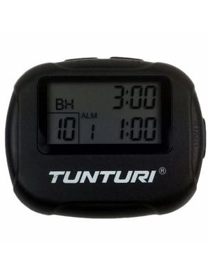Clock - Tunturi - 'Interval timer' - Black