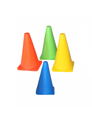 Accessories - Tunturi - 'Training Cone Set, Multicolor' - 10pcs