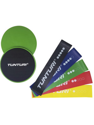 Training Elastic - Tunturi - 'including slider set'