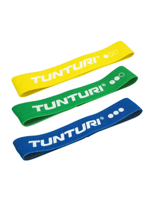 Training Elastic - Tunturi - 'Textile Resistance band set'