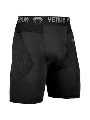 Kompressionsshorts - Venum - 'G-FIT' - Sort