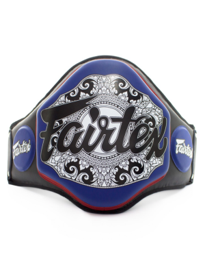 Mavebælte - Fairtex - 'BPV3' - Sort/Blå