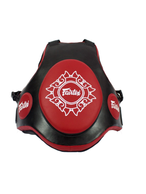 Trainer Vest - Fairtex - 'TV2' - Black/Red