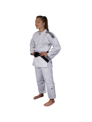 Judo Uniform  - Adidas Judo - 'Champion 2.0' - Hvid - Regular Fit