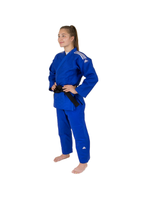 Judo Uniform  - Adidas Judo - 'Champion 2.0' - Blå - Regular Fit