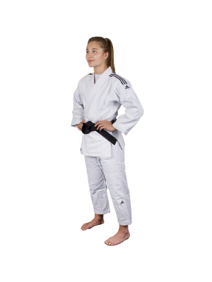 Judo Uniform  - Adidas Judo - 'Quest J690' - Hvid/Sort