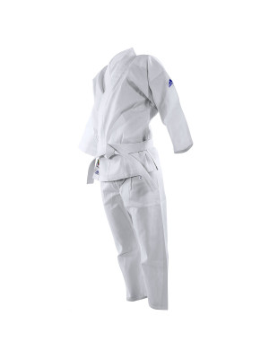 Karate Dragt / Gi - Adidas Karate - 'K200E Evolution' - Hvid