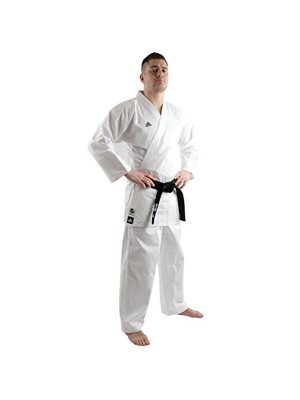 Karate Dragt / Gi - Adidas Karate - 'K220C Club' - Hvid