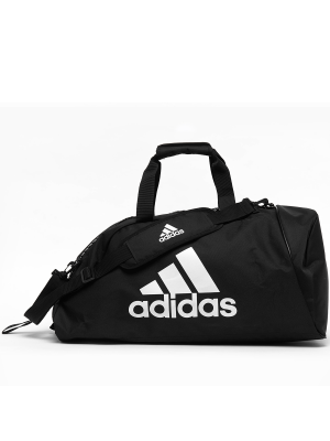 Bag - Adidas - '2 in 1' - Black/White