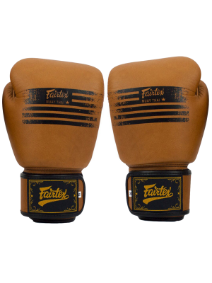 Boxing gloves - Fairtex - 'BGV21' - Brown
