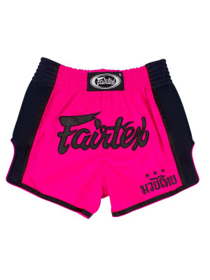 Muay Thai Shorts - Fairtex - 'BS1714' - Pink