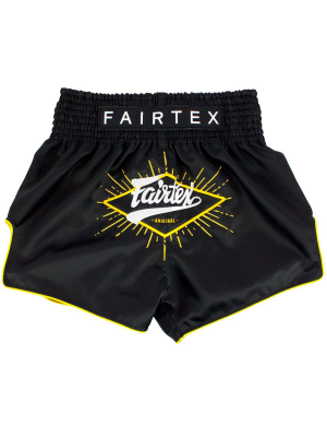 Muay Thai Shorts - Fairtex - 'BS1903' - Black
