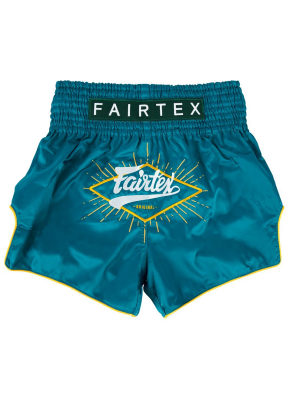 Muay Thai Shorts - Fairtex - 'BS1907' Focus - Green