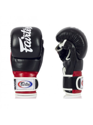 MMA Sparringshandsker - Fairtex - 'FGV18' - Sort