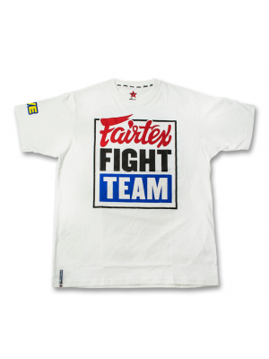 T-shirt - Fairtex - Fight Team - Vit