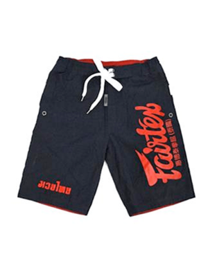 Board Shorts - Fairtex - AB10 - Blå