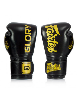 Boksehandske - Fairtex - BGVG1 - Glory Black/Gold
