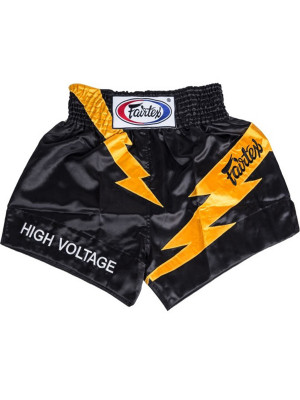 Muay Thai Shorts - Fairtex - 'BS0656' - Sort