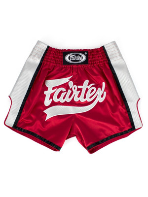 Muay Thai Shorts - Fairtex - 'BS1704' - Rød