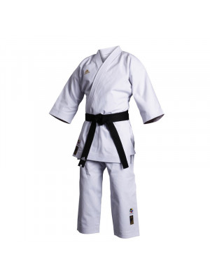 Karate Dragt / Gi - Adidas Karate - 'Champion' - WKF - Hvid