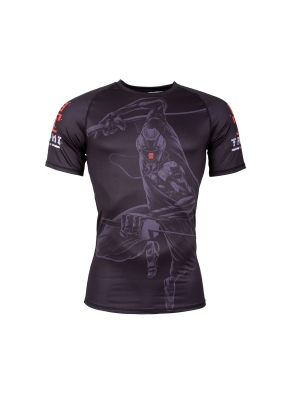Rash Guard - Tatami fightwear - 'Ninja 2099' - Black