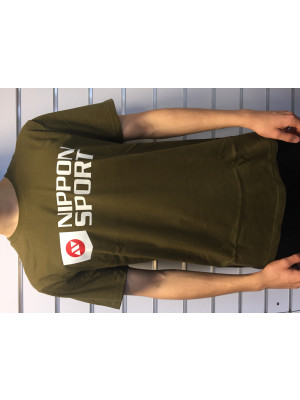 nippon t-shirt olive front