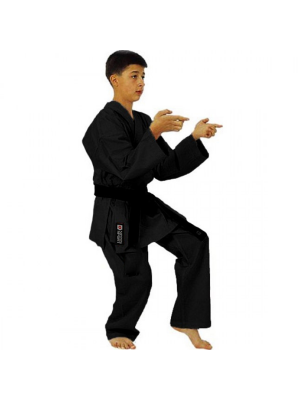 Karate Dragt / Gi - Nippon Sport - Sort