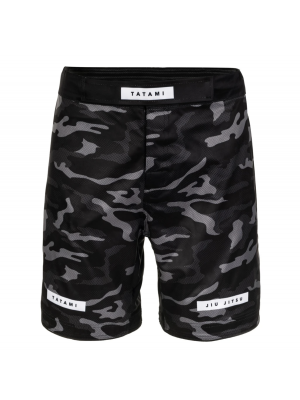 MMA Shorts - Tatami fightwear - 'Rival' - Sort/Camouflage