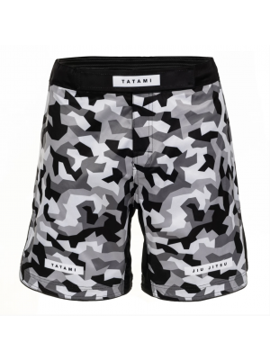 MMA Shorts - Tatami fightwear - 'Rival' - Hvid/Camouflage